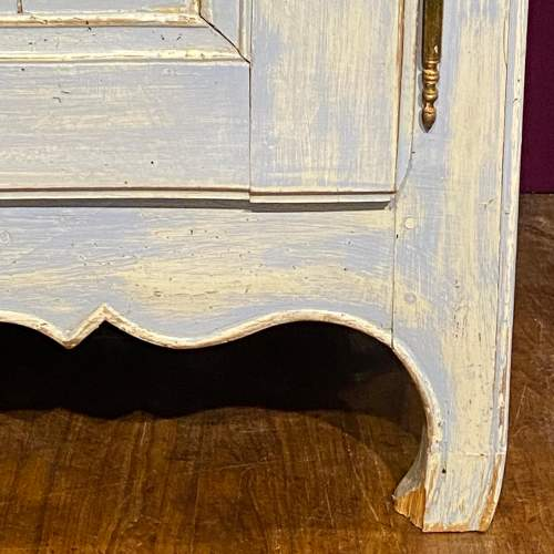19th Century French Painted Two Door Buffet image-3
