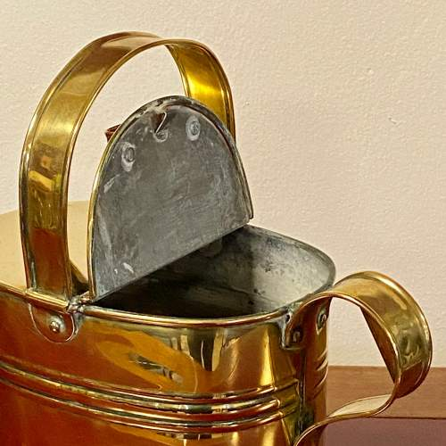 Early 20th Century Brass Watering Can image-2