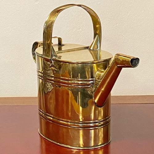 Early 20th Century Brass Watering Can image-4