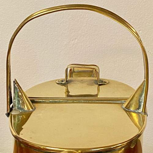 Early 20th Century Brass Watering Can image-3