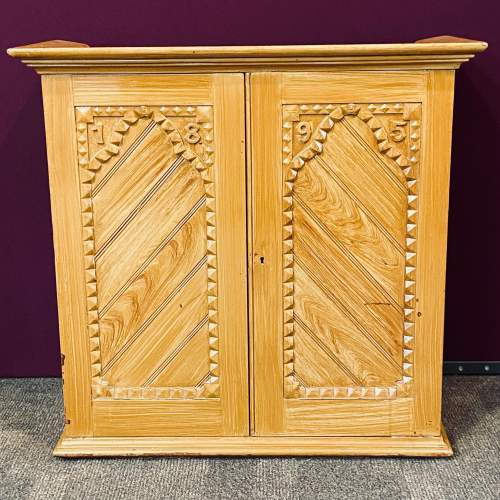 Victorian Scumbled Pine Cabinet image-1
