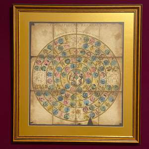 George III Geographical Board Game