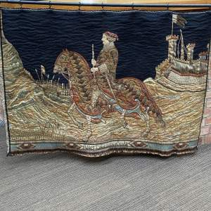 Quality Vintage Medieval Style Tapestry by Liberty