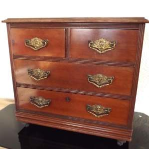 Victorian Cabinet Maker Shop Display Small Scale Chest of Drawers