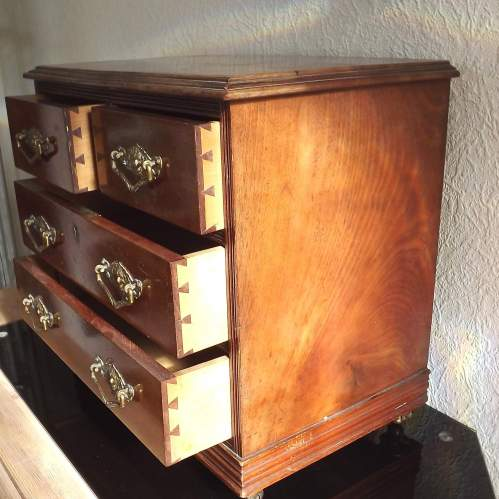 Victorian Cabinet Maker Shop Display Small Scale Chest of Drawers image-4