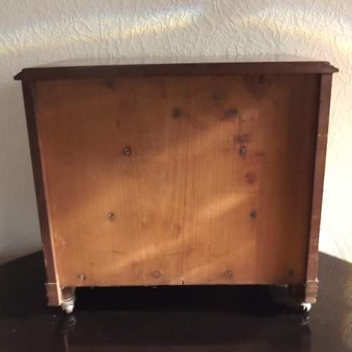 Victorian Cabinet Maker Shop Display Small Scale Chest of Drawers image-6