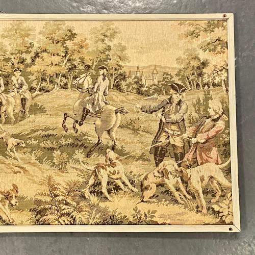 Long Vintage Framed French Tapestry image-4