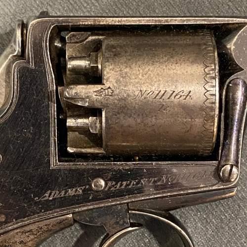 Cased 120 Bore 5-Shot Percussion Revolver image-6