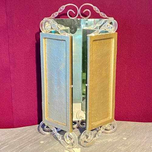 Vintage 1940s Astonia Trifold Dressing Table Mirror image-3