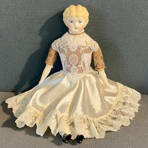 Vintage American Bisque Headed Doll