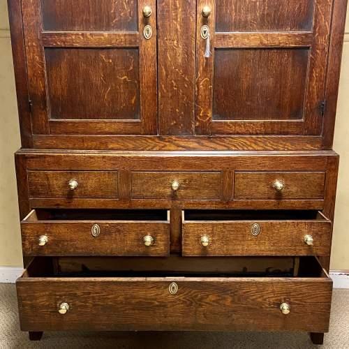 18th Oak Livery Cupboard image-3