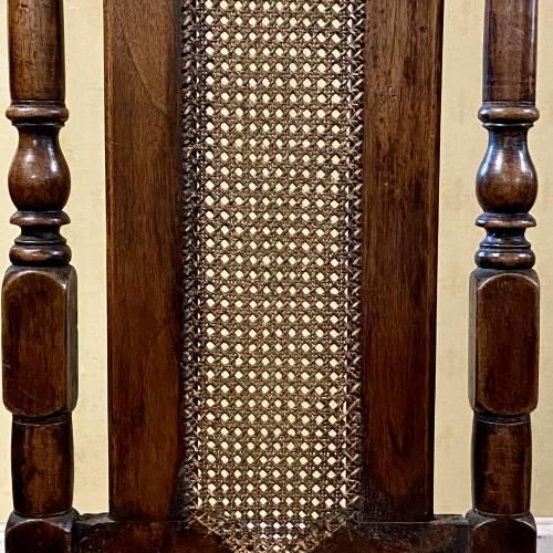 Pair of Walnut Charles II Chairs image-4