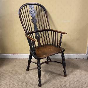 Ash and Elm Windsor Chair from Gabbitass of Worksop circa 1840