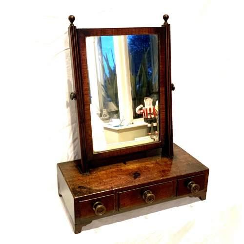 Georgian Toilet Dressing Table Mirror image-1