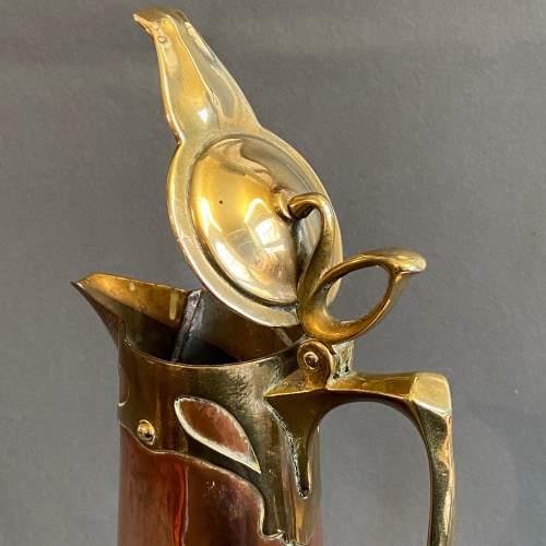Art Nouveau Copper Jug by Carl Deffner image-2