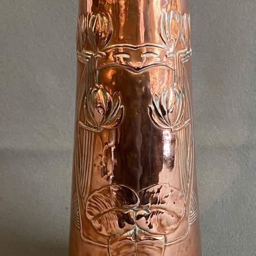 Art Nouveau Copper Jug by Carl Deffner image-4