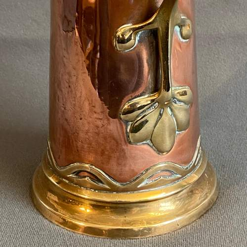 Art Nouveau Copper Jug by Carl Deffner image-3