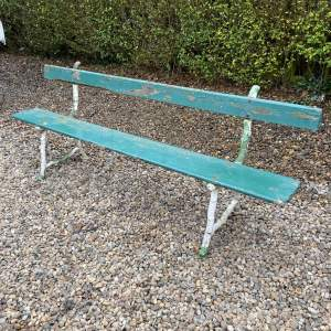 Victorian Railway or Park Bench