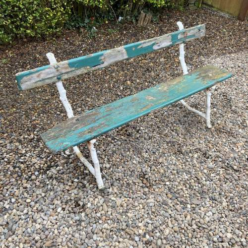 Victorian Park or Railway Bench image-2