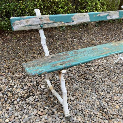 Victorian Park or Railway Bench image-5