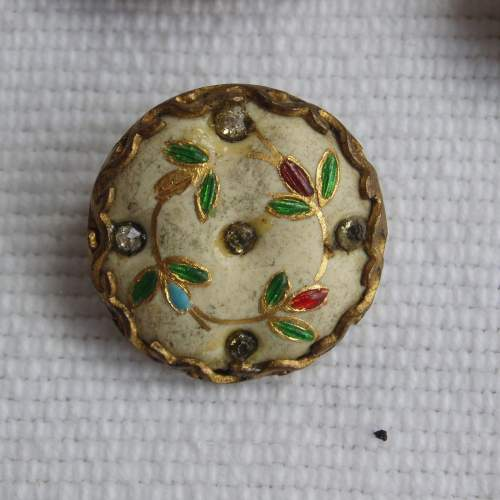 18th Century Gentlemans Waistcoat Buttons image-3