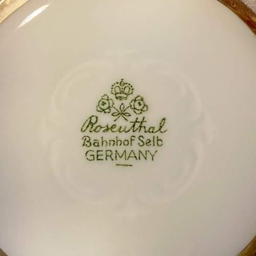 Friedrich Deusch Rosenthal Vase with Silver Overlay image-4