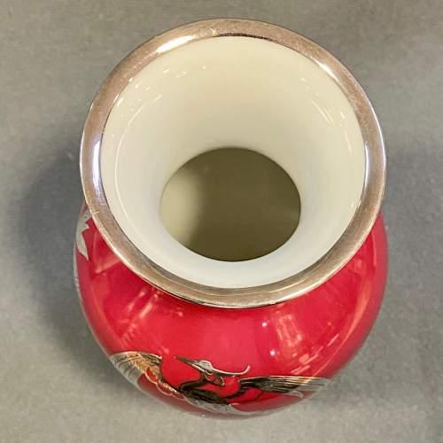 Rosenthal Friedrich Deusch Silver Overlay Vase image-5