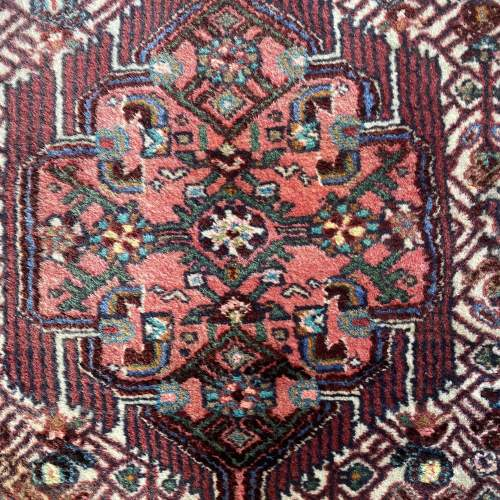 Hand Knotted Persian Rug Hamadan In Wonderful Pastel Colours image-2