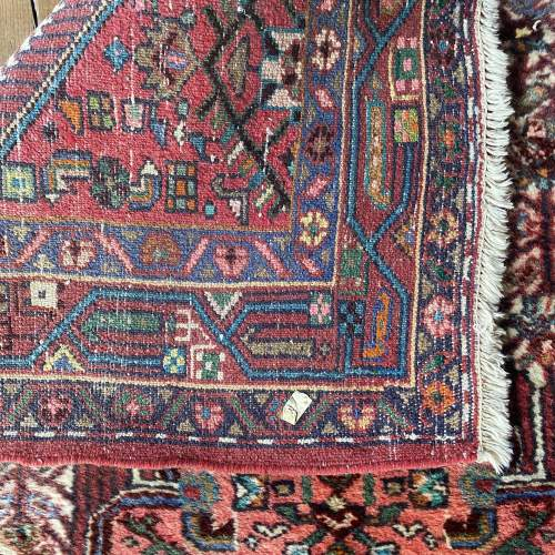 Hand Knotted Persian Rug Hamadan In Wonderful Pastel Colours image-4
