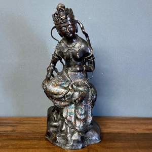 19th Century Bronze Buddha Figure