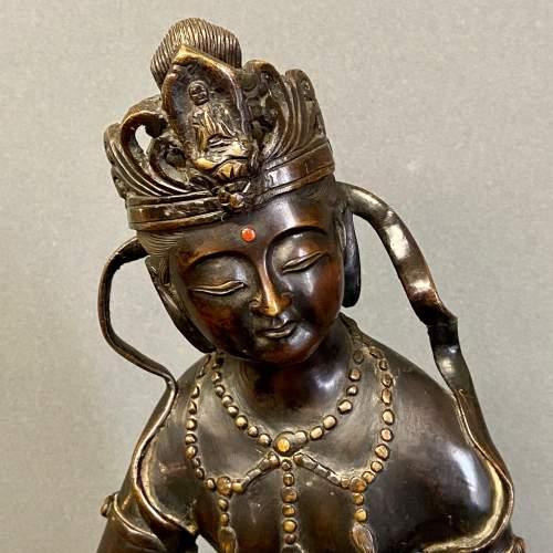 19th Century Bronze Buddha Figure image-4