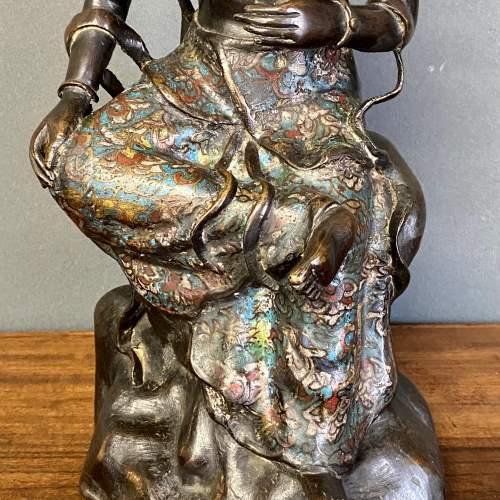 19th Century Bronze Buddha Figure image-5