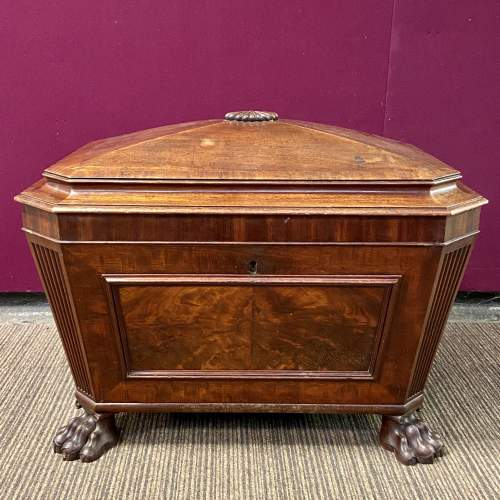 Quality 19th Century Sarcophagus Shaped Wine Cooler image-4