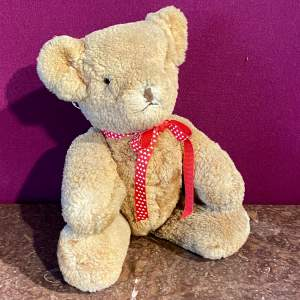 Vintage 1940s Wool Teddy Bear
