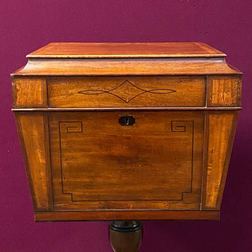 Regency Mahogany Wine Cooler on Stand image-3