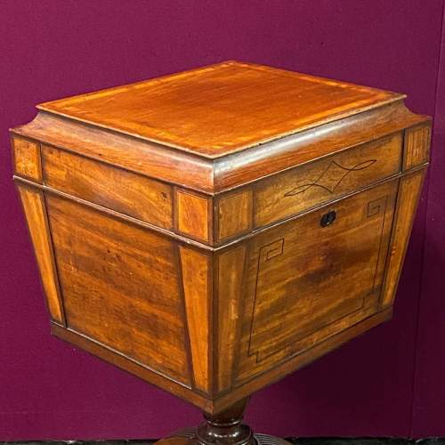 Regency Mahogany Wine Cooler on Stand image-5