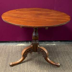 19th Century Circular Mahogany Supper Table
