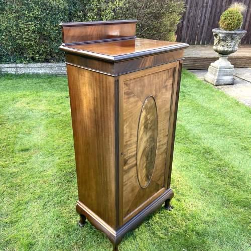 Large Edwardian Mahogany Sheet Music Cabinet image-3