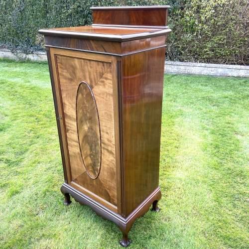 Large Edwardian Mahogany Sheet Music Cabinet image-4