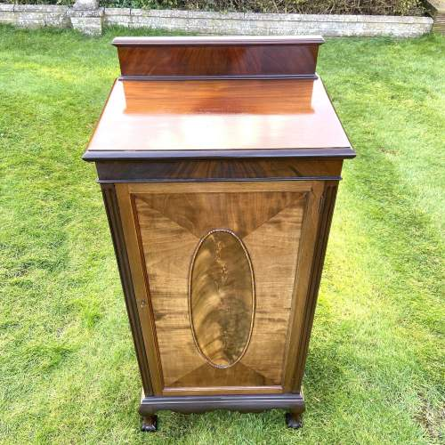 Large Edwardian Mahogany Sheet Music Cabinet image-5
