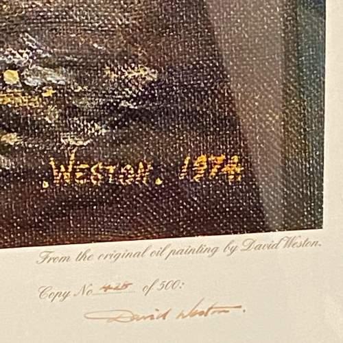 Signed David Weston Giants at Camden Print image-4
