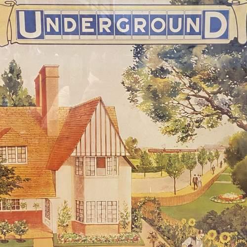 Golders Green Vintage Underground Poster image-2
