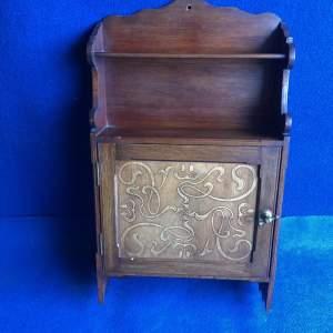 Art Nouveau Wall Cabinet