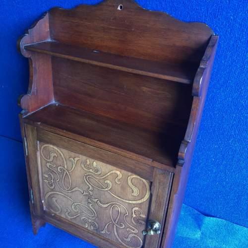 Art Nouveau Wall Cabinet image-2