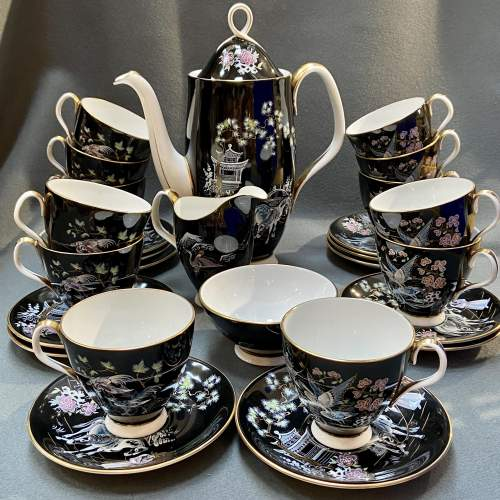 Vintage 27 Piece Royal Albert Coffee Set image-1