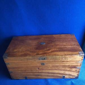 Camphor Wood Military Chest