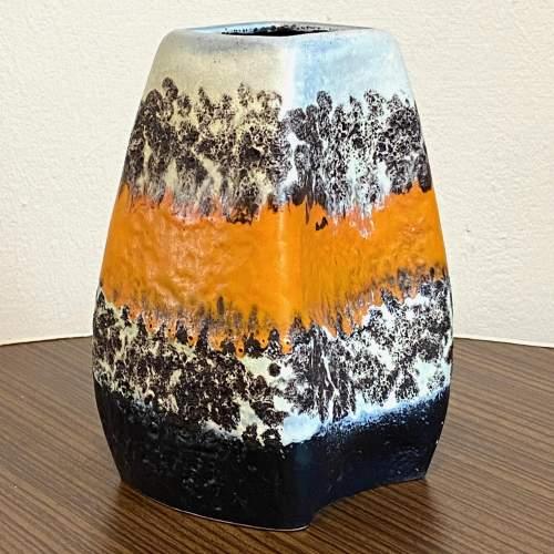 Vintage West German Ceramic Dumler and Breiden Relief Vase image-2