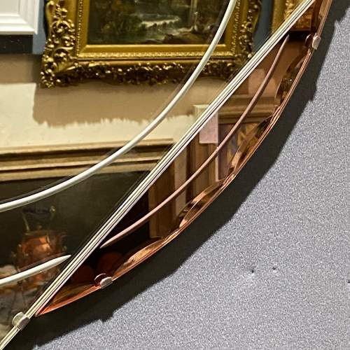 Art Deco 1930s Moon and Star Shaped Wall Mirror image-3