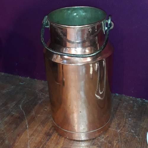 German Copper Milk Churn or Umbrella Stand image-1