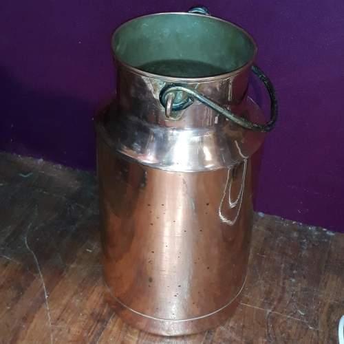 German Copper Milk Churn or Umbrella Stand image-2